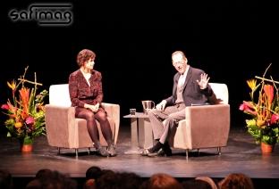 Regine Chassagne & Dr. Paul Farmer @ UQAM University.