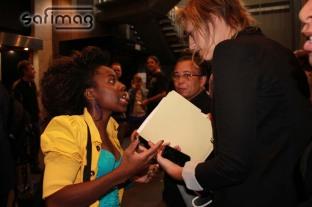 Student ready to meet Arcade Fire & PIH members