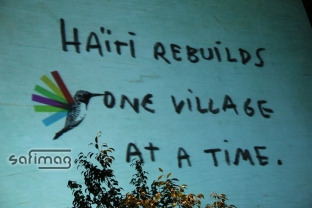 """Haïti rebuilds one village at a time."""