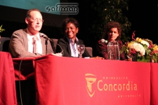 Dr. Paul Farmer, Madeleine Féquière & Regine Chassagne