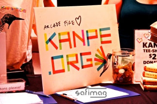 Arcade Fire love KANPE