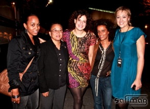 Backstage with Arcade Fire :)