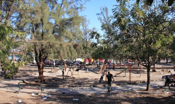 La Place Boyer de Pétion-Ville maintenant libre de tentes