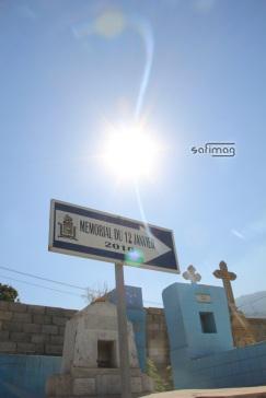 Mémorial du 12 Janvier au Grand Cimetière de Port-au-Prince