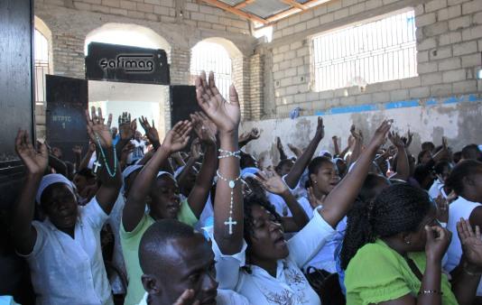 Rassemblement Advantiste au Grand Cimetière de Port-au-Prince