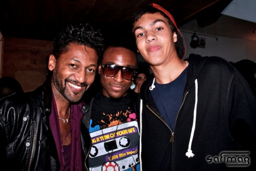 Angelo Cadet, Director of the 1st official single IM IN LOVE WITH MUSIC, Lukay & Matys, son of Angelo