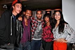 The IM IN LOVE WITH MUSIC crew Matys, Angelo Cadet, ..., Lei La & Rime