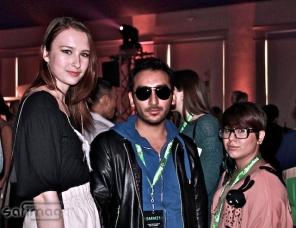 Au Salon P&G. Eric Aragon - Créateur chez ARAGON COUTURE & JSI.