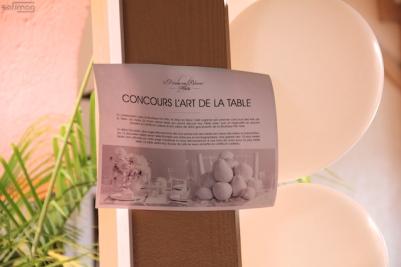 Concours L'ART DE LA TABLE