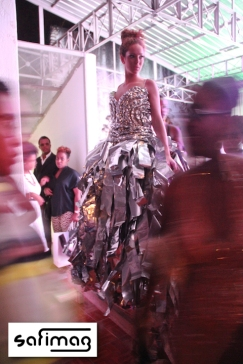 Maguy Durcé Aluminium Dress Fitting