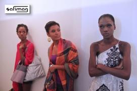 Models Kristine, Clara Luce & Cassandre Patiently Waiting