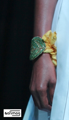Créations Dorées Beaded Bracelet @ Haïti Fashion Week