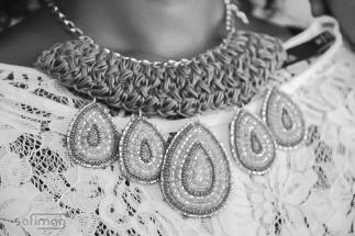 Crochet & Beaded Necklace
