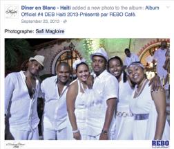 DINER EN BLANC HAITI 2013