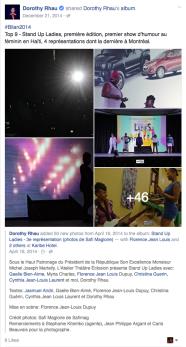 DOROTHY RHAU - STAND UP LADY 2014