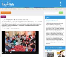 LES RENCONTRES DU MECENAT ET DE LA PHILANTROPIE - LE NOUVELLISTE 2013