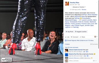DOROTHY RHAU - LADIES STAND UP HAITI 2014