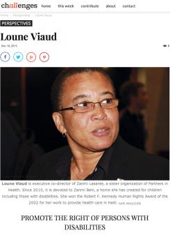 LOUNE VIAUD - CHALLENGES HAITI 2015