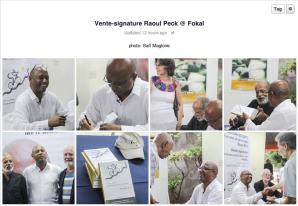 RAOUL PECK - VENTE SIGNATURE - FOKAL 2015