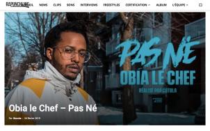 PAS NÉ - OBIA LE CHEF - RAPUNCHLINE
