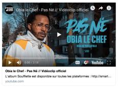 PAS NÉ - OBIA LE CHEF - YOUTUBE - 7EME CIEL