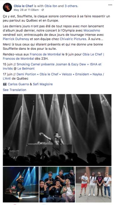SOUFFLETTE - OBIA LE CHEF 2018 - FACEBOOK