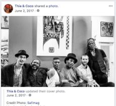 THIA & COCO - FACEBOOK 2017