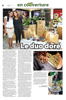 CREATIONS DOREES -TICKET MAG 2013